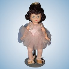 Madame Alexander Bent Knee Ballerina in a Pink Tutu