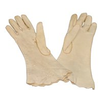 Pair of Leather Gloves for Your French Fashion Doll