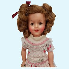 1950's Ideal Vinyl Shirley Temple Doll