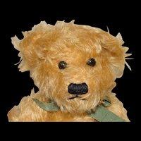 Mary Meyer Gold Mohair Teddy Bear with Box