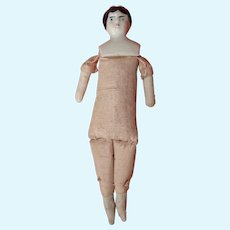 Miniature China Head Doll to be Dressed