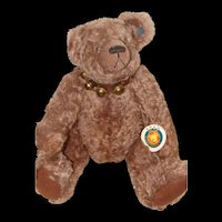 Fully Jointed Musical Boris Bear from Effanbee's Bear Essentials Collection