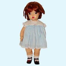 Hard Vinyl Terri Lee Doll with Auburn Wig