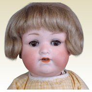 Cute Little Armand Marseille 990 Bisque Head Baby Doll