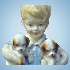 "Royal Worcester Figurine ""Monday's Child is Fair of Face"""