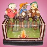 Steiff Set of Nimrod Teddy Bears