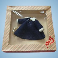 Gigi Coat and Pearls for 8 Inch Doll