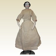 Nice Early China Head Doll