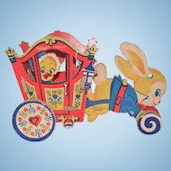 Whitman's Chocolates Easter Bunny Cart