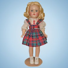 Ideal Hard Plastic P-90 Toni Doll in Original Clothing