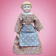 Sweet Little Highland Mary China Head Doll