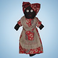 New Orleans Souvenir Cloth Mammy Doll