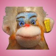 Adorable Steiff Monkey Tagged Mungo