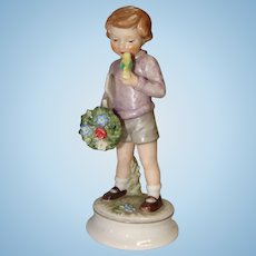 1966 Goebel Blumenkinder Lore Bearer Of Gifts Figurine.