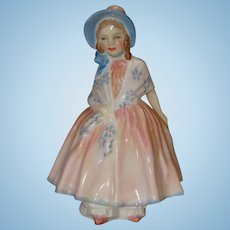 Royal Doulton Porcelain Figurine Lily