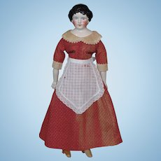 China Head Doll Probably Made by Kling or Hertwig