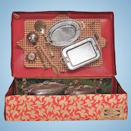 French Child's Metal Cookware in the Box