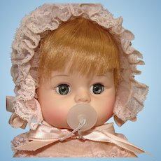 Madame Alexander Sweet Tears Baby Doll in Original Clothing