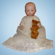 German Armand Marseille Baby Doll with Composition Body