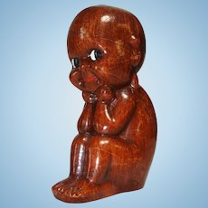 Kewpie Thinker Made In Italy by Alberto Lena