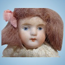 Sweet Little Strobel & Wilken All Bisque Child Doll