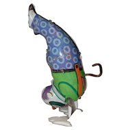 Chein Tin Wind-Up Handstand Clown That Works!