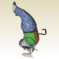 Chein Tin Wind-Up Handstand Clown That Works!
