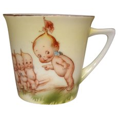 Rose O'Neill Kewpie Cup Made by Royal Rudolstadt