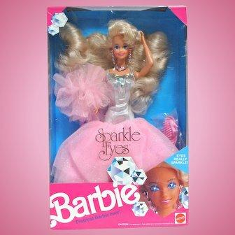 1991 Mattel Sparkle Eyes Barbie in Her Box