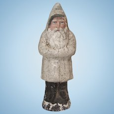 German Paper Mache Belsnickle Santa in As Found Condition