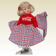 Madame Alexander Time Out for Coca Cola Sock Hop Cissette Doll