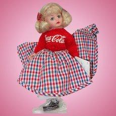 Madame Alexander Time Out for Coca Cola Sock Hop Cissette Doll