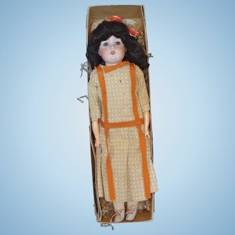 Armand Marseille Child Doll with Her Box