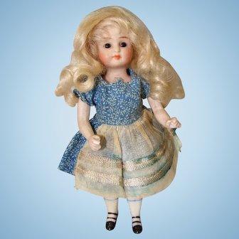 Adorable All Bisque Doll Made by Kling