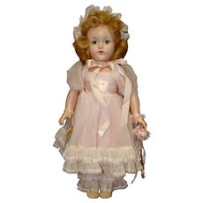 Effanbee Composition Little Lady Bridesmaid Doll