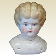 German Pet Name Ethel China Shoulder Head