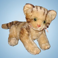 Large Steiff Kitty with Swivel Head and Jointed Shoulders and Hips