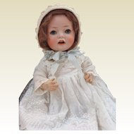 German Bisque Hannah Baby Doll Made by Schoenau & Hoffmeister