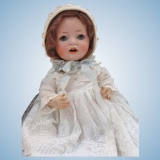 German Bisque Hannah Baby Doll Made by Schoenau & Hoffmeister