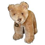 Cute Steiff Mohair Swivel Neck Walking Bear Cub
