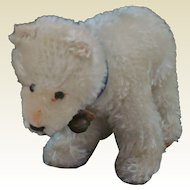 Darling Little Steiff Mohair Polar Bear Cub