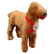 Miniature West Germany Dog with Paper Tag