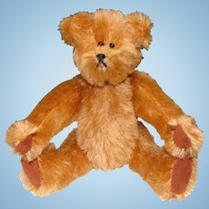 Fully Jointed Mohair Half Nelsons Bear by Linda Nelson