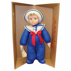 Lenci Sailor Baby Marco with Original Box and Tags