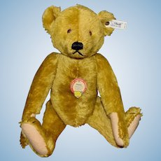 Steiff Limited Edition Petsy Fully Jointed Mohair Bear