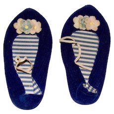 Chatty Cathy Navy Blue Shoes with Free Shipping!