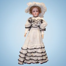 Simon & Halbig Lady Doll 1159 with Composition Lady Body