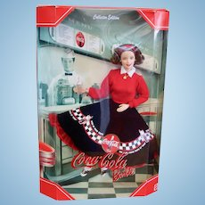 Coca Cola Barbie by Mattel Never Removed From Box