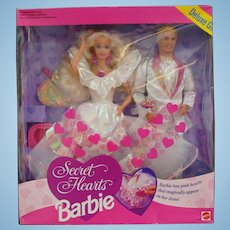 Secret Hearts Barbie and Ken Deluxe Gift Set