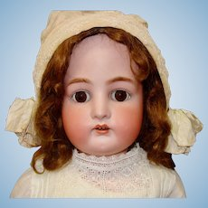 Beautiful Large Kammer & Reinhardt Bisque Head Child Doll